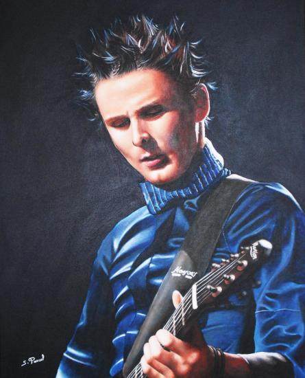 Matthew Bellamy by Asaliah